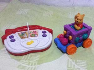 Juguetes Para Bebe Disney Carrito Whinie Pooh Y Caja Musical