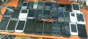 Lote Telefonos Varios Para Reparar O Repuestos