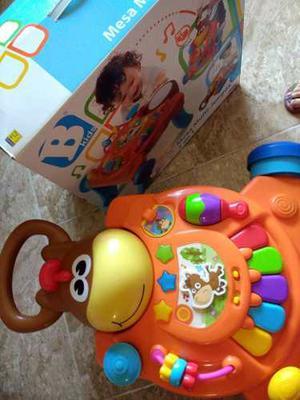 Mesa 3 En 1 Para Bebe Con Luces Y Sonidos
