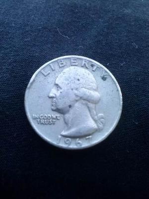 Moneda Cuarto De Dollar