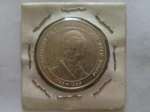 Moneda De Plata, Bicentenario De Jose Maria Varga
