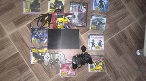 Playstation 2 Original Con 2 Controles Y Memoria