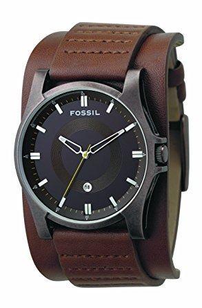 Reloj Fossil Correa De Cuero Para Caballero, Modelo Jr