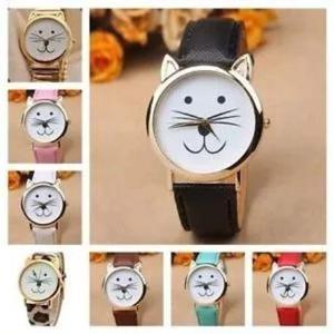 Reloj Juvenil De Gato, Gatito Geneva Ch Mk Gt Cat