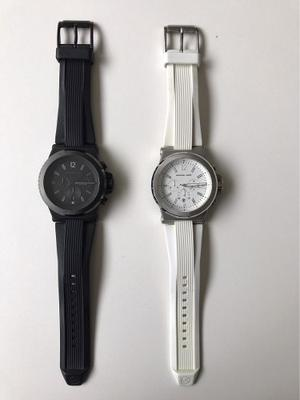 Reloj Michael Kors Originales 100% En Color Blanco