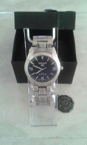 Reloj Salco (nuevo) Acero Inoxidable