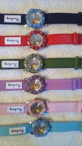Relojes Para Niños Y Niñas W. Pooh Y Snoopy