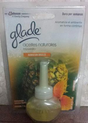 Respuesto Glade Electrico Aceite Natural Varias Fragancias