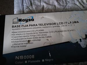Base Fija para Tv Lcd Y Plasma