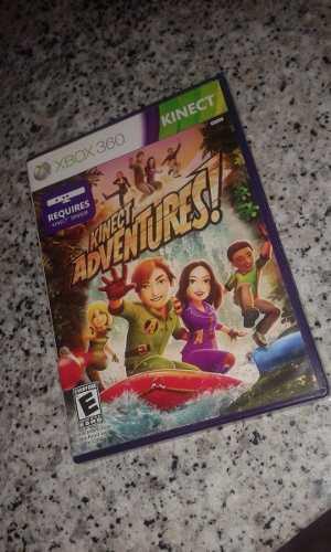 Juego Original Kinect Adventure Para De Xbox 360 Como Nuevo