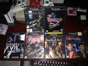 Juegos Gamecube Resident Evil Oferta!
