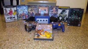 Nintendo Gamecube + 2 Controles + Juegos!!!