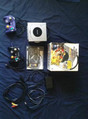 Nintendo Gamecube Con Caja Y Manuales + 1 Control