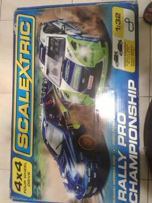 Pista De Carro, Marca Scalextryc, 4x4 Rally Pro Championship