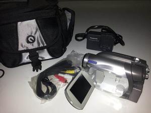 Video Camara Panasonic Con Todos Sus Accesorios