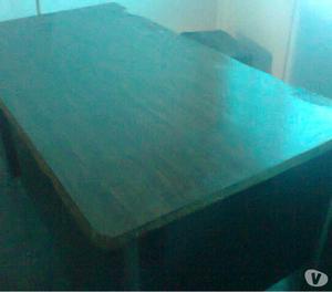 escritorio metal formica con detalles