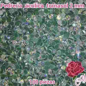 Apliques Pedreria Acrilica Transfer Textil, Para Uñas Y