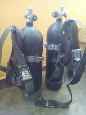 Bombona De Oxigeno Para Buceo Con Su Regulador