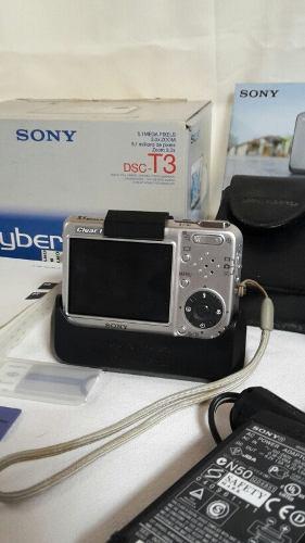 Camara Digital Sony Cyber Shot Modelo Dsc-t3 / 5.1 Mp