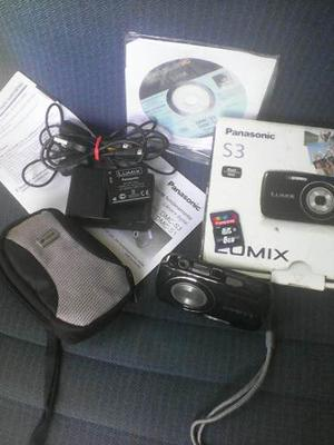 Camara Panasonic Lumix 14 Mp Dmc S3
