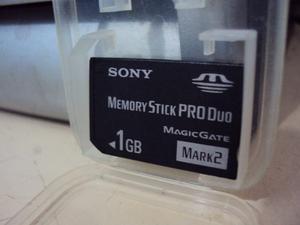 Cambio Memoria Sony Memory Stick Pro Duo 1 Gb Por Mp3