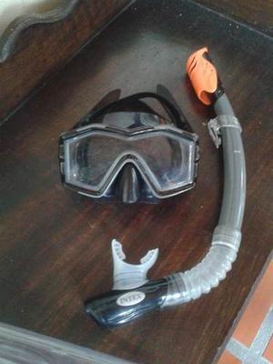 Careta Y Snorkel Intex