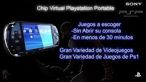 Chip Psp Todas Las Versiones Tienda Física