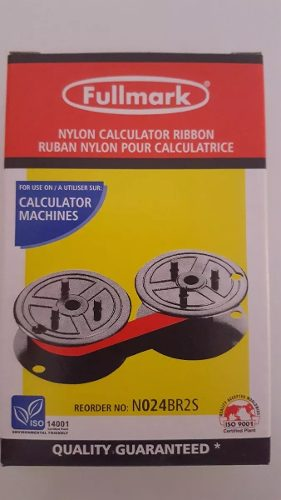 Cinta Bicolor Para Sumadora-calculadora Casio R1 R2