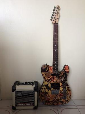 Guitarra Eléctrica Fender Telecaster + Amplificador + Forro