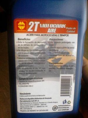 Aceite De Moto 2tiempo Por Cajas