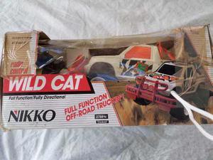 Carro A Control Remoto Nikko Wild Cat.