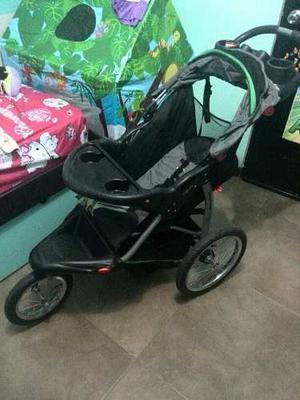 Coche 3 Ruedas Con Portabebe Baby Trend