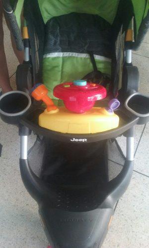 Coche Para Bebé Triciclo Importado Jeep