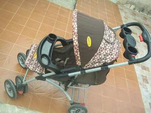 Coche Y Porta Bebe Marca Gama Baby