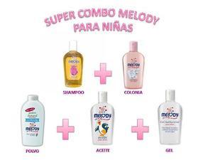 Colonia Melody + 4 Productos / Combo De Bebes