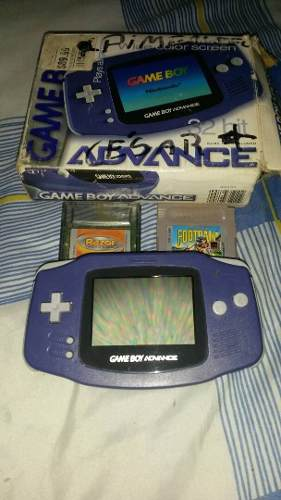 Game Boy Advance Con 2 Juegos Combo Oferta