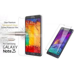 Lamina Vidrio Templado Samsung Note 3 Note 4 Protector Bagc