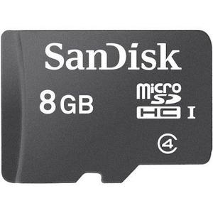 Memoria Microsd 8gb, Micro Sd R4, Mp3, Celulares. Sandisk
