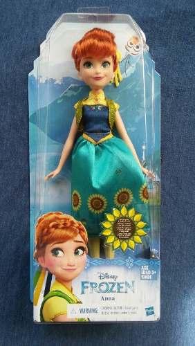 Muñeca Disney Frozen Anna 100% Original Hasbro