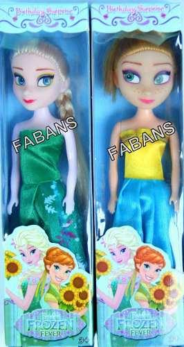 Muñecas Frozen Elsa Y Anna 16cm Juguetes Oferta Niña