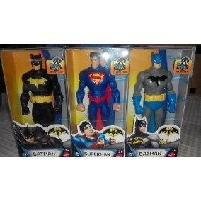 Muñecos Superman Mattel, Batman, Max Steel, Original De 15c