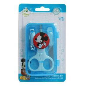Set De Higiene Manicure Bebes Niños Cortauñas Mickey