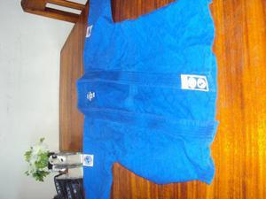 Judogi Para Judo Tejido De Arroz Color Azul