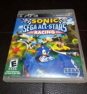 Juego Fisico Sonic All Stars Racing Para Playstation 3