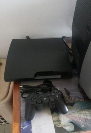 Playstation 3 Slim 160 Gb (1 Control + Juegos)
