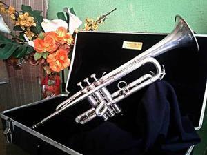 Trompeta Profesional De Plata Marca Mendez