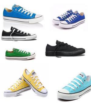 Zapatos Converse 100% Vietnam Talla 35 Ala 45 Todos Los Colo