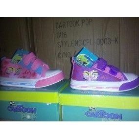 Zapatos Deportivos Sin Luces Niñas Cartoon Network 22 Y 23