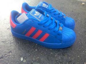 Zapatos adidas Super Star De La Talla 35 A La 40