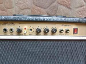Amplificador Maxstone De 30w Para Bajo Y Guitarra